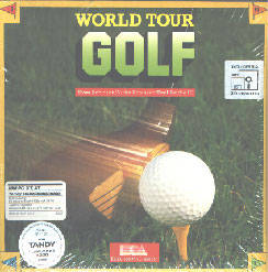 World Tour Golf per Commodore 64