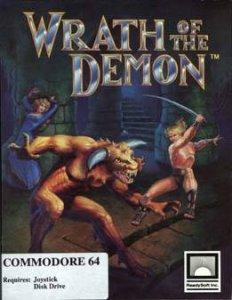 Wrath of the Demon per Commodore 64