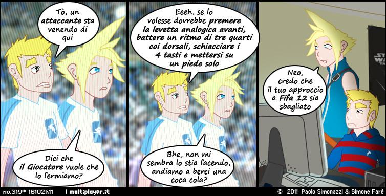 La difesa di FIFA 12