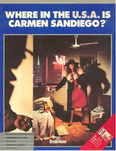 Where in the USA is Carmen Sandiego? per Commodore 64