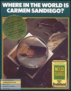 Where in the World is Carmen Sandiego? per Commodore 64