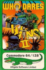 Who Dares Wins II per Commodore 64