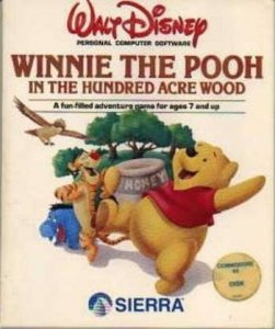 Winnie the Pooh in the Hundred Acre Wood per Commodore 64