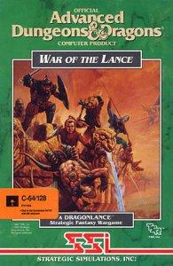 War of the Lance per Commodore 64