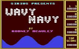 Wavy Navy per Commodore 64