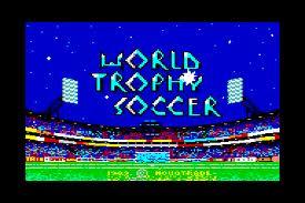 World Trophy Soccer per Commodore 64