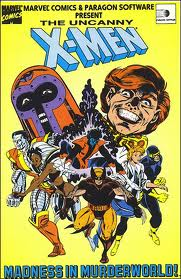 X-Men: Madness in the Murderworld per Commodore 64