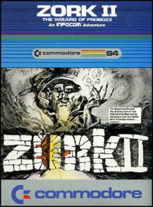 Zork II: The Wizard of Frobozz per Commodore 64