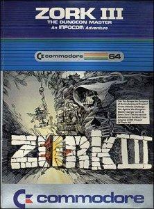 Zork III: The Dungeon Master per Commodore 64