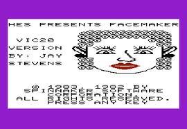 Facemaker per Commodore VIC-20