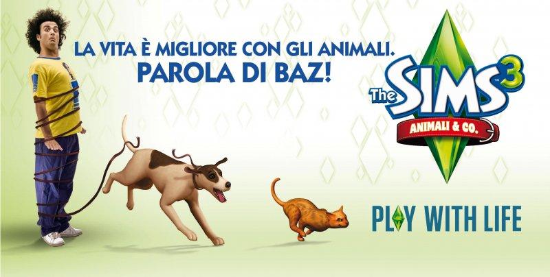 BAZ testimonial di The Sims 3: Animali & Co.