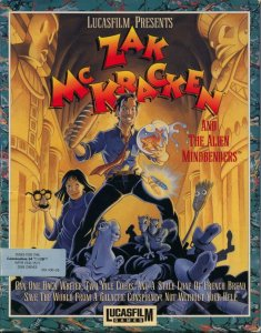 Zak McKracken And The Alien Mindbenders per Commodore 64