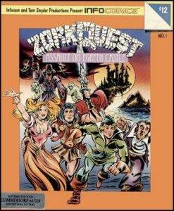 ZorkQuest: Assault on Egreth Castle per Commodore 64
