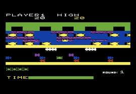 Frogger per Commodore VIC-20