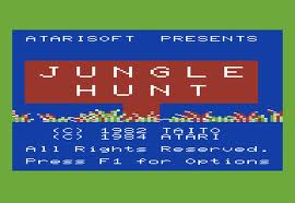 Jungle Hunt per Commodore VIC-20