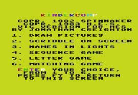 Kindercomp per Commodore VIC-20