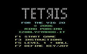 Tetris per Commodore VIC-20
