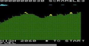 Vic Scramble per Commodore VIC-20