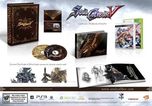 Soul Calibur V: la Collector's Edition
