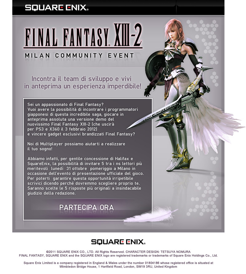 Multiplayer.it vi invita a provare Final Fantasy XIII-2 in anteprima!