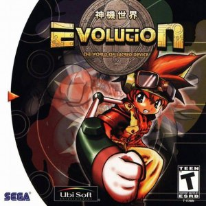 Evolution: The World of Sacred Device per Dreamcast