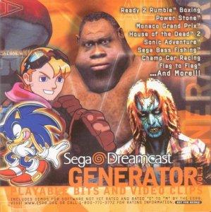 Generator Demo Disc Vol. 1 per Dreamcast