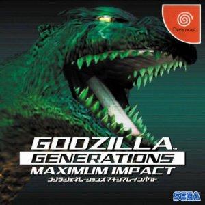 Godzilla Generation Maximum Impact per Dreamcast