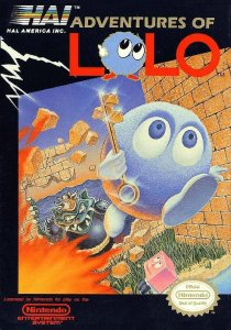 Adventures of Lolo per Nintendo Entertainment System