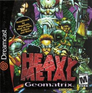 Heavy Metal Geomatrix per Dreamcast