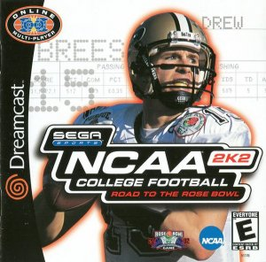 NCAA College Football 2K2 per Dreamcast
