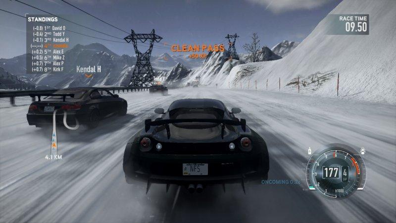 Need for Speed: The Run, sette vetture in esclusiva su PS3