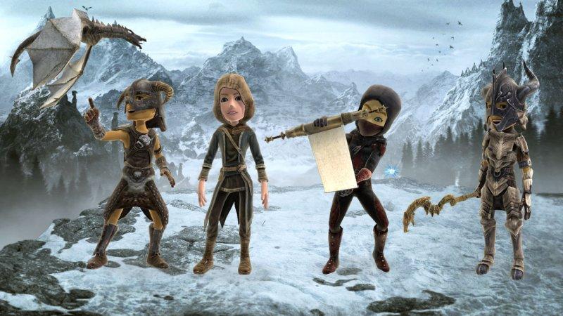 Gli accessori per avatar a tema Skyrim