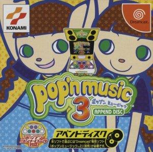 Pop'n Music 3 Append Disc per Dreamcast
