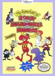 The Adventures of Rocky and Bullwinkle and Friends per Nintendo Entertainment System
