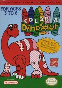Color a Dinosaur per Nintendo Entertainment System