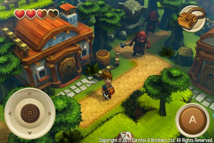 Oceanhorn: Monster of Uncharted Seas - L'iOS ha un suo Zelda?