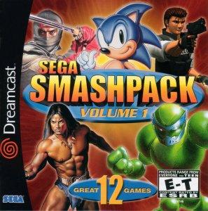 Sega Smash Pack per Dreamcast