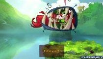 Rayman Origins - Sette minuti di gameplay in presa diretta