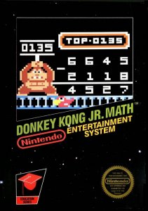 Donkey Kong JR. Math per Nintendo Entertainment System