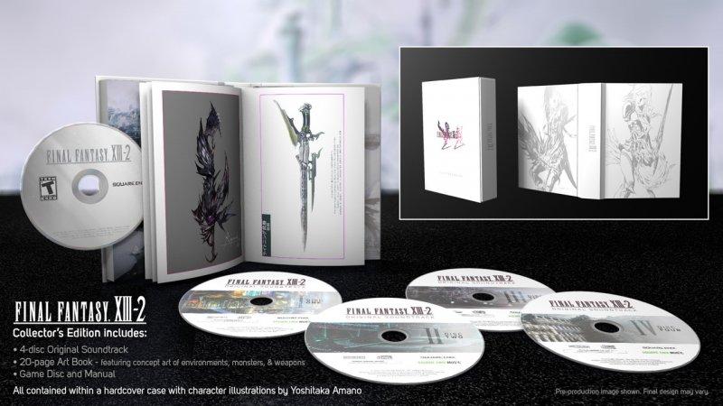 Final Fantasy XIII-2 - Immagini della Collector's Edition