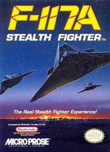 F-117A Stealth Fighter per Nintendo Entertainment System