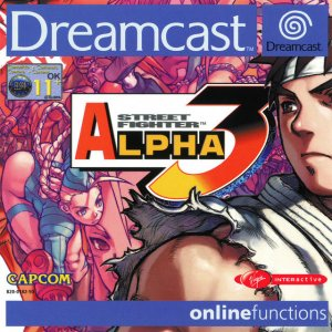 Street Fighter Zero 3 per Dreamcast
