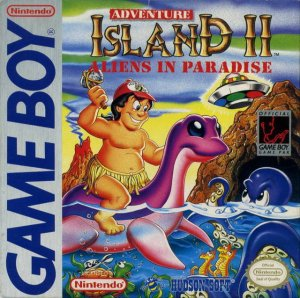 Adventure Island 2 per Game Boy