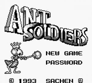 Ant Soldiers per Game Boy