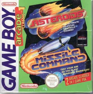 Asteroids / Missle Command per Game Boy