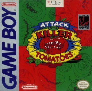Attack of the Killer Tomatoes per Game Boy