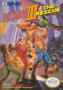 Ikari III: The Rescue per Nintendo Entertainment System