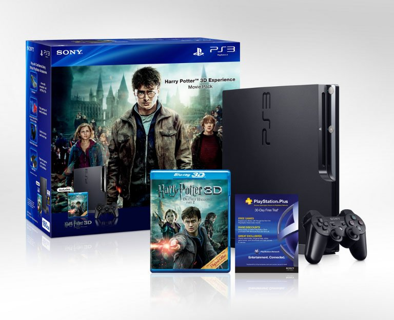 PlayStation 3, nuovo bundle con Harry Potter in 3D