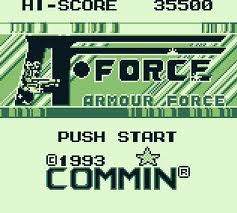 A-Force: Armour Force per Game Boy