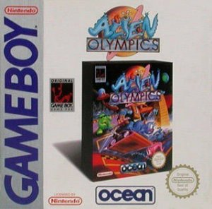 Alien Olympics 2044 AD per Game Boy